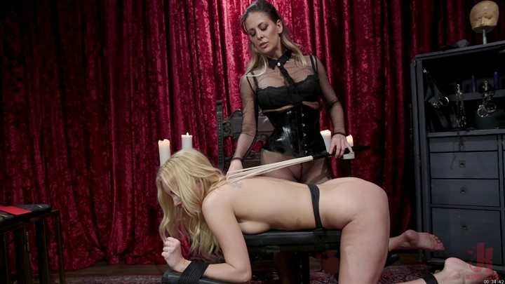 First Time Submission Cherie DeVille Dominates Aaliyah Love